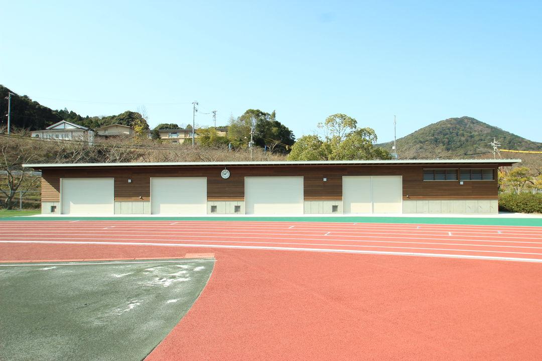 Gスポーツの杜伊勢陸上競技場補助競技場:トイレ棟